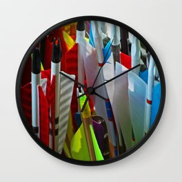 The Soul of the Archer Wall Clock