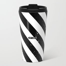Off White Travel Mug