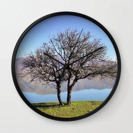 Tree Divided Wall Clock