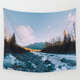 Autumn in Kenai Fjords National Park V Wall Tapestry