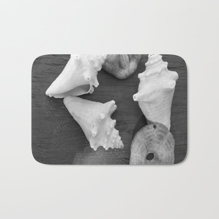 Haitian Seashells Bath Mat
