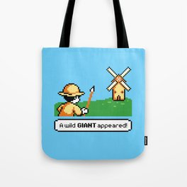 Mon Quixote Tote Bag