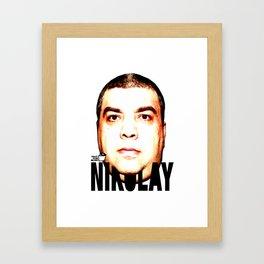 TOILET CLUB #nikolay Framed Art Print