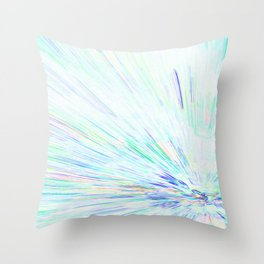 Re-Created Rapture 6 by Robert S. Lee Throw Pillow
