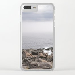 up the southern shore Clear iPhone Case