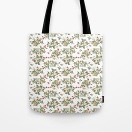 Strawberry fields bunnies Tote Bag