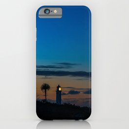 The Lighthouse on the Point iPhone Case