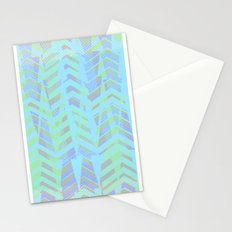 Seaside Chevron Stationery Cards