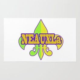 NeauxLa - For the Love of New Olreans (NOLA) Rug