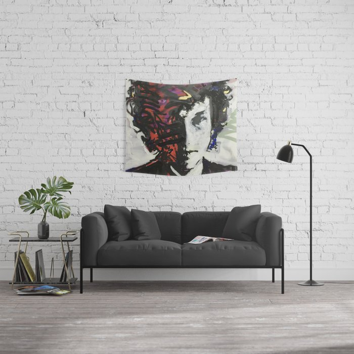 The Colors in Your Mind Wall Tapestry