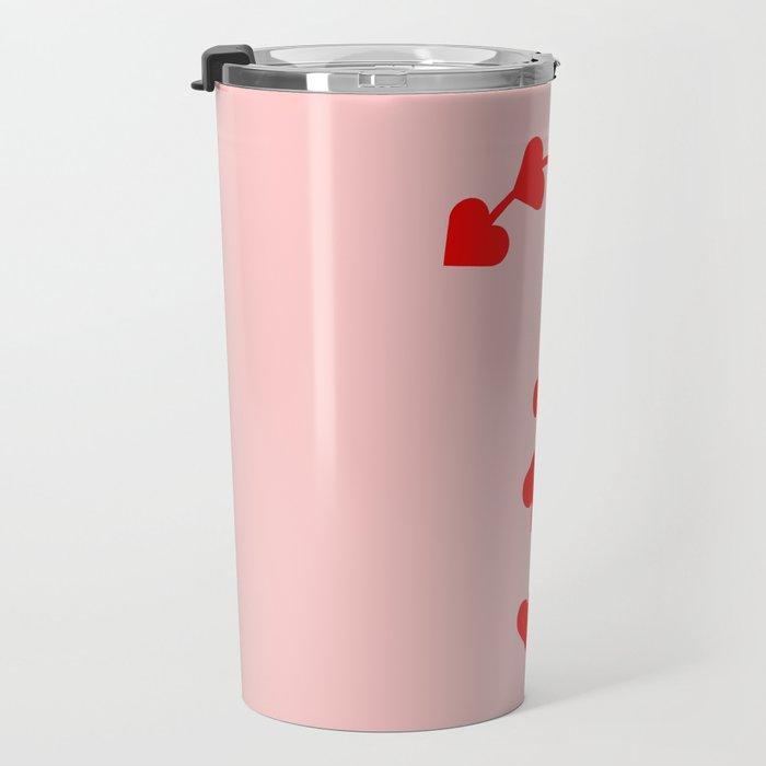 Question mark - Love punctuation Travel Mug