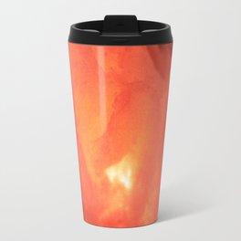 Textures (Red version) Travel Mug