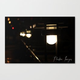 Path of Light Canvas Print