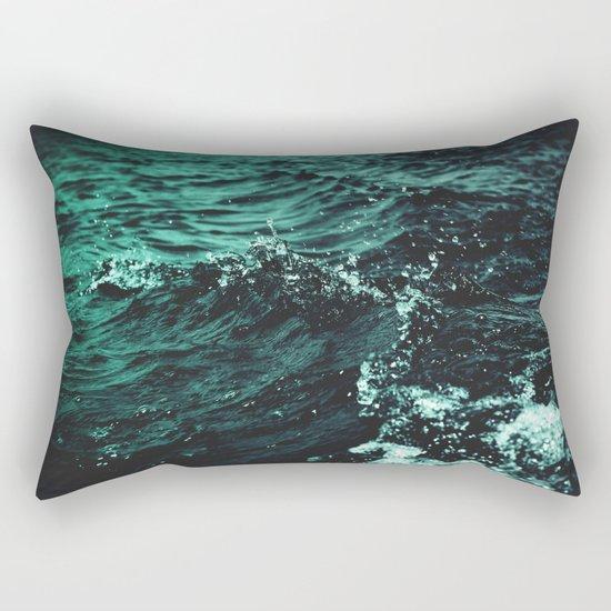 Still Beating Rectangular Pillow