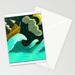 All Ships Rise With The Tide Stationery Cards