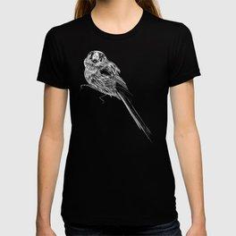 Long tailed tit bird T-shirt
