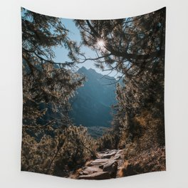 On the trail - Landscape and Nature Photography Wall Tapestry