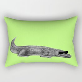 CROCODEAL WITH IT  Rectangular Pillow