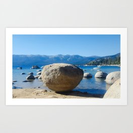 The Organic Placement of Nature Art Print