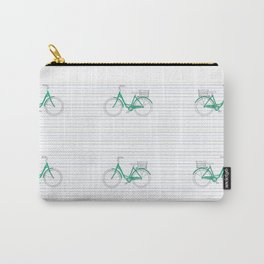 Green Bikes Carry-All Pouch