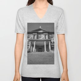 Auburn Courthouse Unisex V-Neck