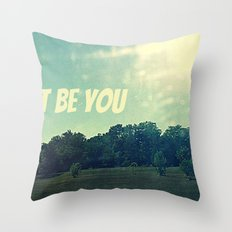 and nothing else Throw Pillow