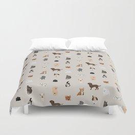 dogs Duvet Cover
