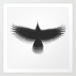 5.0.4 - Black Art Print