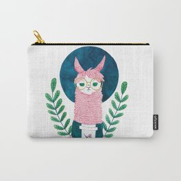 The coffee Llama Carry-All Pouch