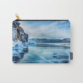 Lake Baikal. March Carry-All Pouch