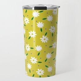 spring, yellow Travel Mug