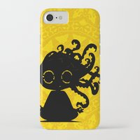 yoga iPhone & iPod Cases featuring Yoga by BLOOP