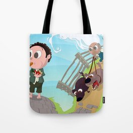 Run you Fool! Tote Bag