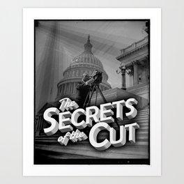 Secrets of the Cut Art Print