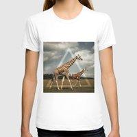 giraffes T-shirts featuring Giraffes by Niklas Rosenkilde
