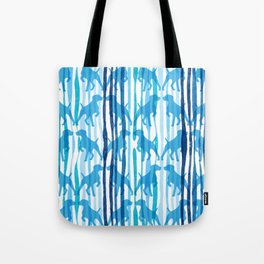 RAINING DOGS Tote Bag
