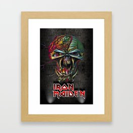 Iron Maiden Framed Art Print