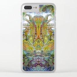 FOMORII THRONE Clear iPhone Case