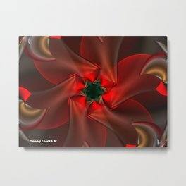 Merry Christmas With Love Metal Print