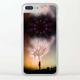 The Magic Of Thought Clear iPhone Case