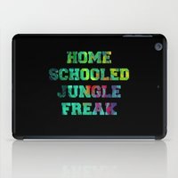 mean girls iPad Cases featuring Mean Girls #12 – Jungle Freak by Enyalie