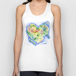 Island of Love Unisex Tank Top
