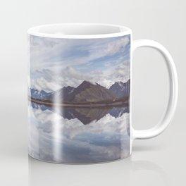 Mountain Lake Reflection - Landscape and Nature Photography Coffee Mug