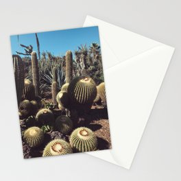 cactus blob friends Stationery Cards
