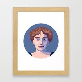 Queer Portrait - Natalie Clifford Barney Framed Art Print
