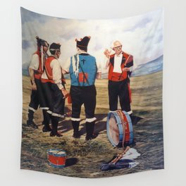 Gaiteros/Gaiteiros/Pippers Wall Tapestry