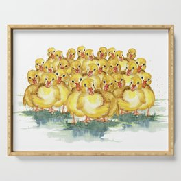 Little Duck Family Serving Tray