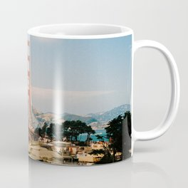 Golden Gate Bridge shot on film Coffee Mug