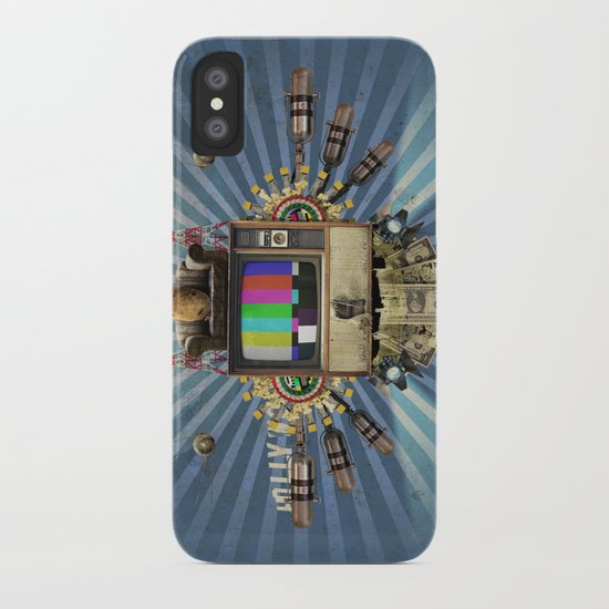 The  Television Will Not Be Revolutionised! iPhone Case
