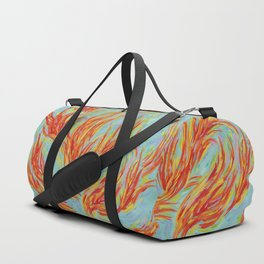 Fires of Life Dancing Flames Duffle Bag